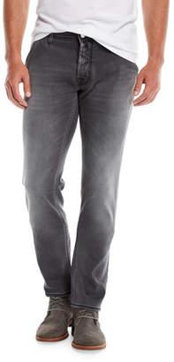 Jacob Cohen Washed Denim Straight-Leg Jeans