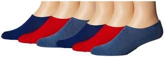 Converse 6-Pack Made for Chucks Bold Logo Men's No Show Socks Shoes