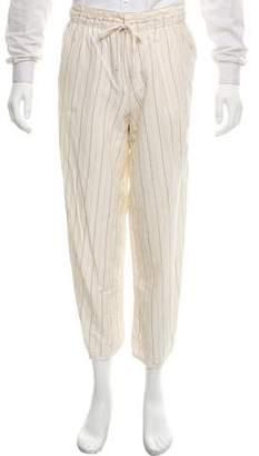 Loewe Cropped Woven Pants
