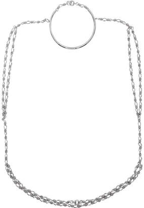 Dheygere Silver T-Shirt Necklace