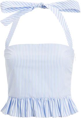 457b260a99dd3 Blue Women s Halter Tops - ShopStyle