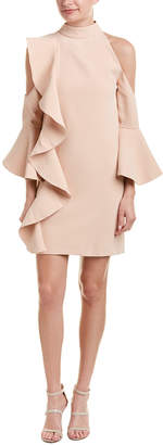 Few Moda Cold-Shoulder Shift Dress