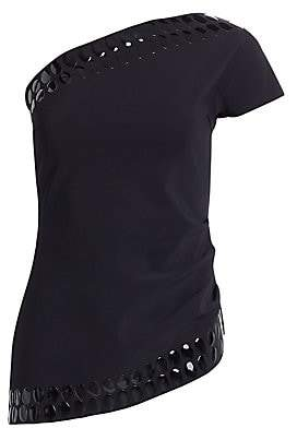 Chiara Boni Women's Valdis One-Shouldered Embellished Top