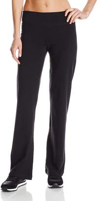 Calvin Klein Women's Wide Waist Straight Leg Pant