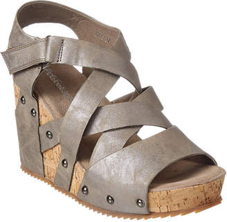 Antelope 706 Leather Wedge Sandal
