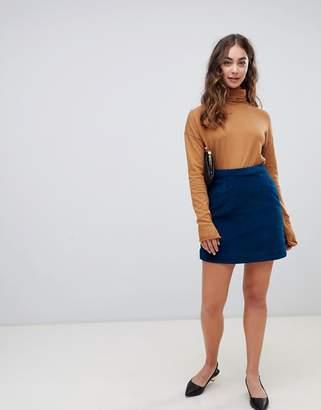 Vero Moda Cord Mini Skirt