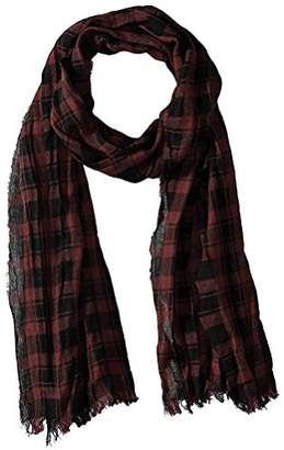 John Varvatos Men's Plaid Scarf