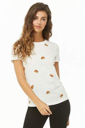 Forever 21 Hedgehog Graphic Tee
