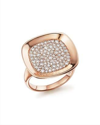 Roberto Coin 18K Rose Gold Carnaby Street Diamond Ring