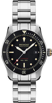 Bremont S301BKBR Supermarine automatic stainless steel watch