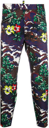 DSQUARED2 Hawaiian print trousers