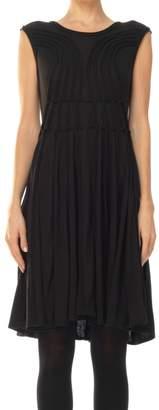 Max Studio Fine Jersey Cap Sleeved Dress