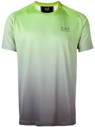 Emporio Armani Ea7 gradient T-shirt