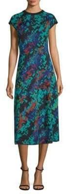 M Missoni Abito Printed Midi Dress