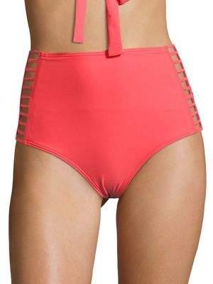 CoCo Reef Captivate Strappy High-Waist Bikini Bottom