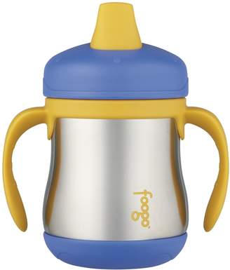 Thermos Foogo by Leak-Proof SS 7 oz Sippy Cup with Handle in Blue