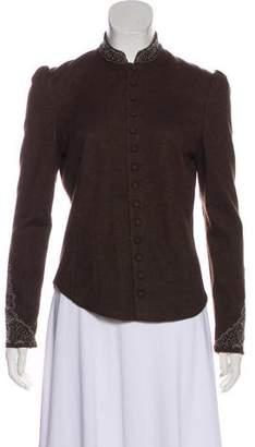 Ralph Lauren Embellished Wool Jacket