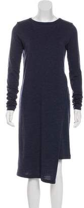 Brunello Cucinelli Virgin Wool Midi Dress