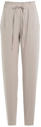 Steffen Schraut Tapered Pants with Drawstring Waist