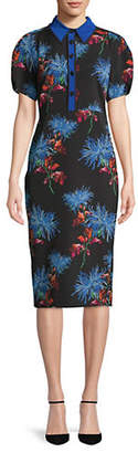 Diane von Furstenberg Elly Floral Shirtdress