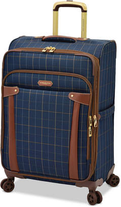 """London Fog Brentwood 25"""" Softside Expandable Spinner Suitcase, Created for Macy's"""