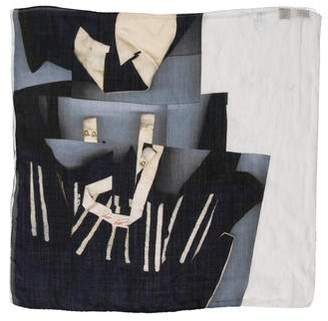 Acne Studios Abstract Print Scarf