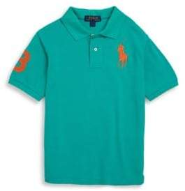 Ralph Lauren Little Boy's& Boys Tennis Tail Cotton Polo