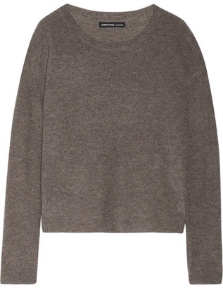 James Perse - Cashmere Sweater - Gray $350 thestylecure.com
