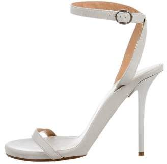 Maison Margiela Leather Ankle Strap Sandals