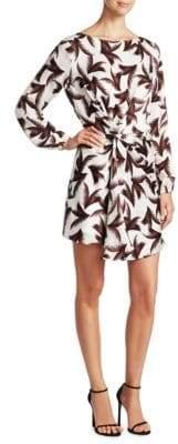 A.L.C. Freja Silk Palm Dress