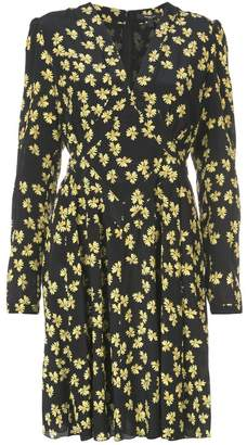 Derek Lam floral print longsleeved dress