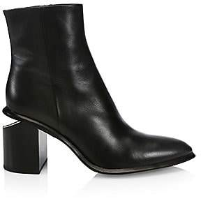 Alexander Wang Women's Anna Leather Ankle Boots