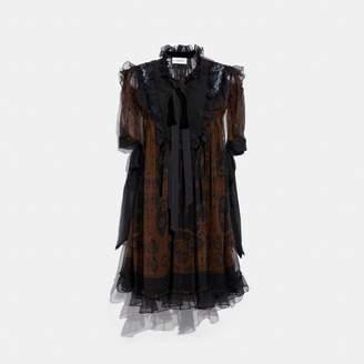 Coach Bandana Print Mini Dress
