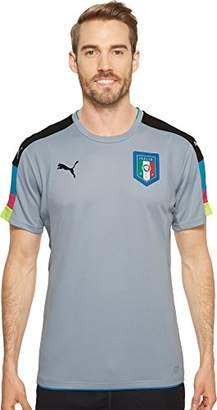 Puma Men's FIGC Italia Goalkeeper Short Sleeve Shirt