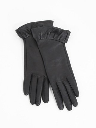 Hanii Y. Leather Ruffle Glove