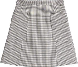 See by Chloe Checked Mini Skirt