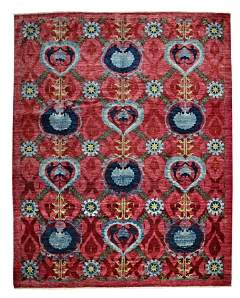 Vibrance Collection Oriental Rug, 9'1 x 11'5