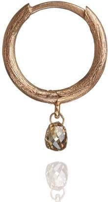 Annoushka Hoopla Diamond Hoop Single Rose Gold Earring