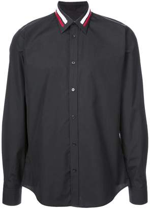 Givenchy embellished collar shirt
