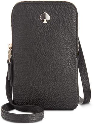 Kate Spade Polly Pebble Leather Phone Crossbody