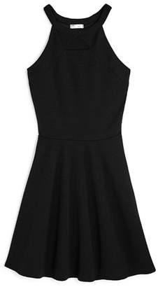 Sally Miller Girls' Morgan Textured Knit Dress - Big Kid
