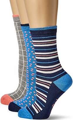 Original Penguin Women's LSHPE868STL Socks, Pink (Indigo (Manufacturer Size:)