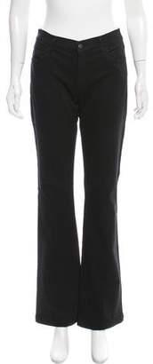 Koral Mid-Rise Wide-Leg Jeans