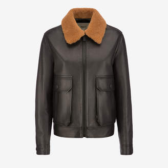Bally Leather Western Jacket