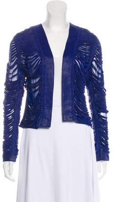 Alexis Fringed Leather Jacket w/ Tags