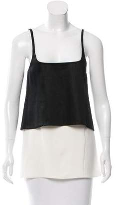 Narciso Rodriguez Layered Contrast Blouse
