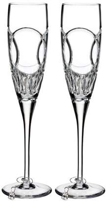 Waterford Wedding Vows Flute, Set of 2