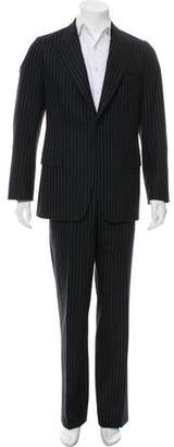 Dries Van Noten Wool Pinstripe Suit