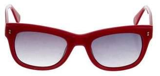 Clare Vivier Tinted Square Sunglasses