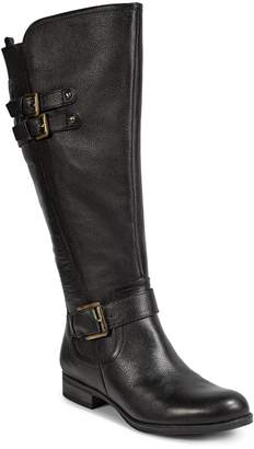 Naturalizer Jessie Wide Calf Leather Riding Boots